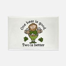 Two Beers Magnets