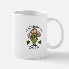 Ambidextrous Drinker Mugs