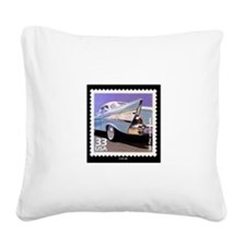 Funny 57 chevy Square Canvas Pillow