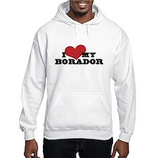 I Heart My Borador Hoodie