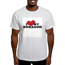I Heart My Borador T-Shirt