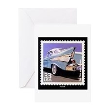 57 Chevy Greeting Cards