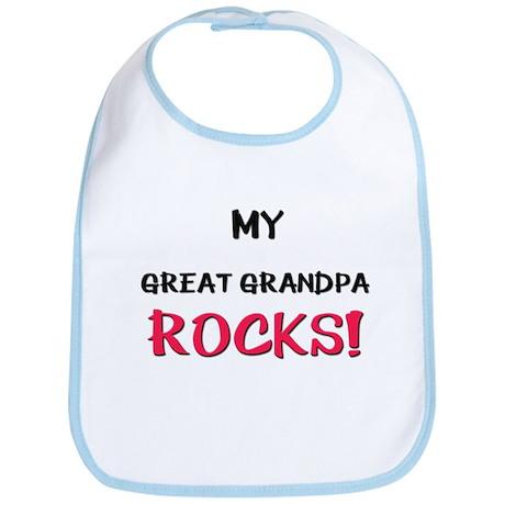 My GREAT GRANDPA ROCKS! Bib