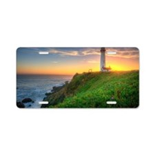Pigeon Point Lighthouse Aluminum License Plate