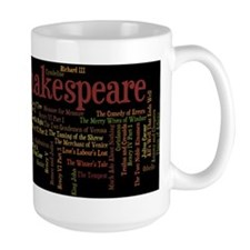 William Shakespeare's Plays Mugs