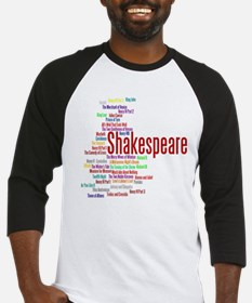 The Plays of William Shakespeare Baseball Jersey