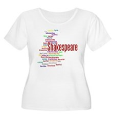 The Plays of William Shakespeare Plus Size T-Shirt