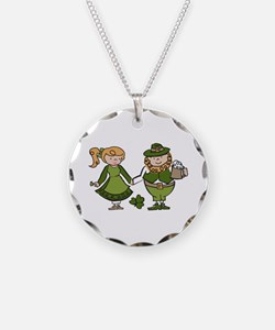 Irish Couple Necklace