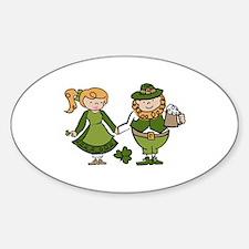 Irish Couple Decal