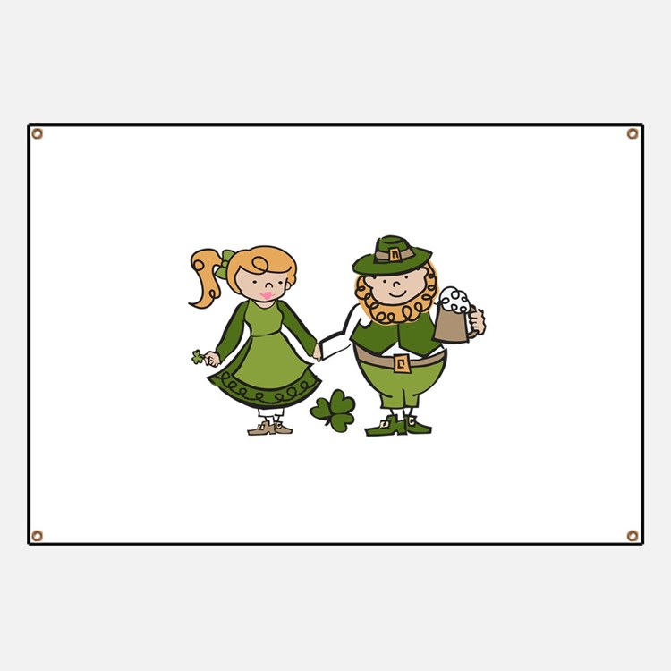 Irish Couple Banner