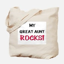 My GREAT AUNT ROCKS! Tote Bag
