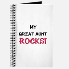 My GREAT AUNT ROCKS! Journal