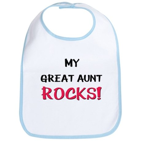 My GREAT AUNT ROCKS! Bib