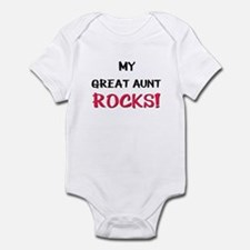 My GREAT AUNT ROCKS! Infant Bodysuit