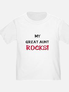 My GREAT AUNT ROCKS! T
