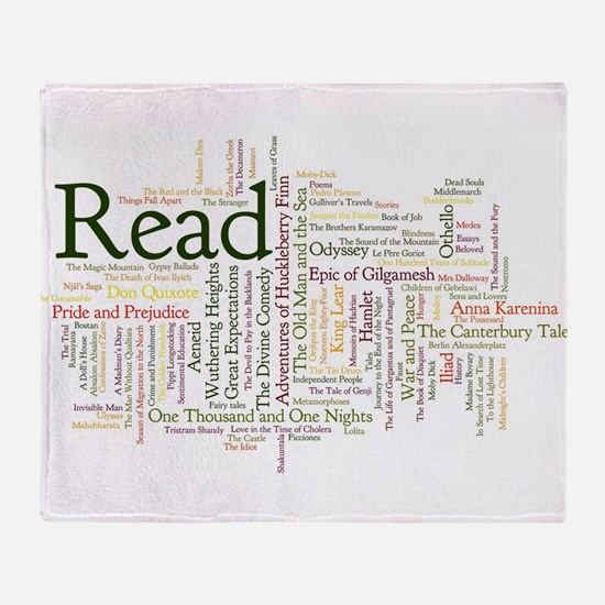 Cool Read Throw Blanket