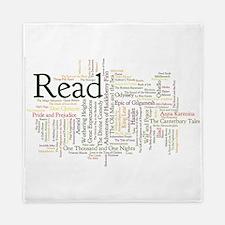 Unique Reading Queen Duvet