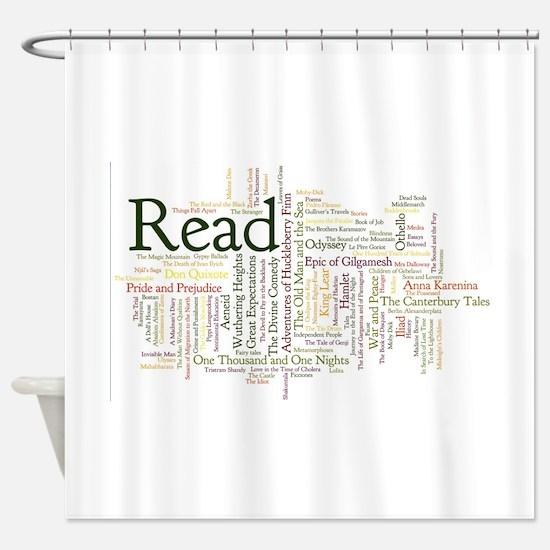 Cute Read Shower Curtain