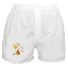Eat, Drink & Be Merry Boxer Shorts