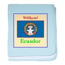 Wellkom! Ecuador baby blanket