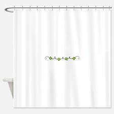 Clover Vine Shower Curtain