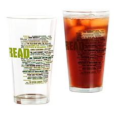 Cute Read Drinking Glass