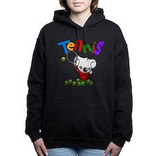 Tennis Koala Bear Women's Hooded Sweatshirt