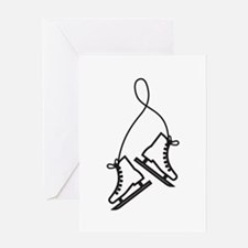Ice Skates Greeting Cards