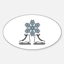 Ice Skating Decal