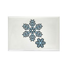 Snow Flakes Magnets