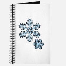 Snow Flakes Journal