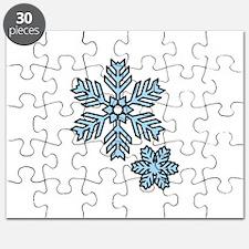 Snow Flakes Puzzle