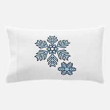 Snow Flakes Pillow Case