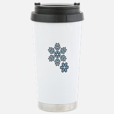 Snow Flakes Travel Mug
