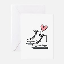 Love Ice Skating Greeting Cards
