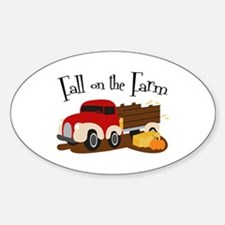 Fall On The Farm Decal