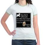 Mary Had A Little Lamb Jr. Ringer T-Shirt