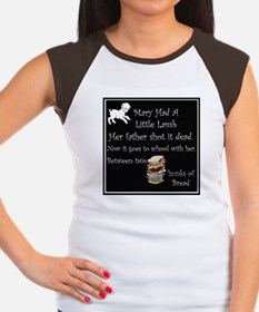 Mary Had A Little Lamb Women's Cap Sleeve T-Shirt