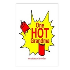 One Hot Grandma Postcards (Package of 8)