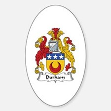 Durham Oval Decal