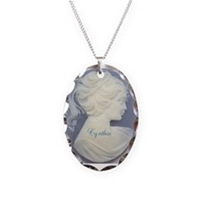 Personalized Cameo Necklace