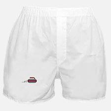 Curling Rock Boxer Shorts