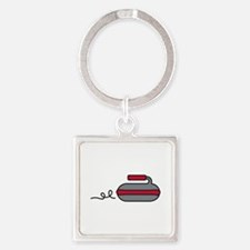 Curling Rock Keychains