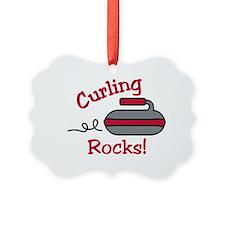 Curling Rocks Ornament