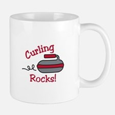 Curling Rocks Mugs