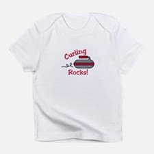 Curling Rocks Infant T-Shirt
