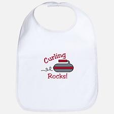 Curling Rocks Bib