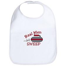 Real Men Sweep Bib