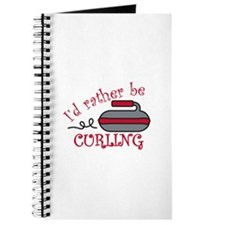 Rather Be Curling Journal