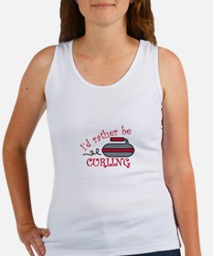 Rather Be Curling Tank Top